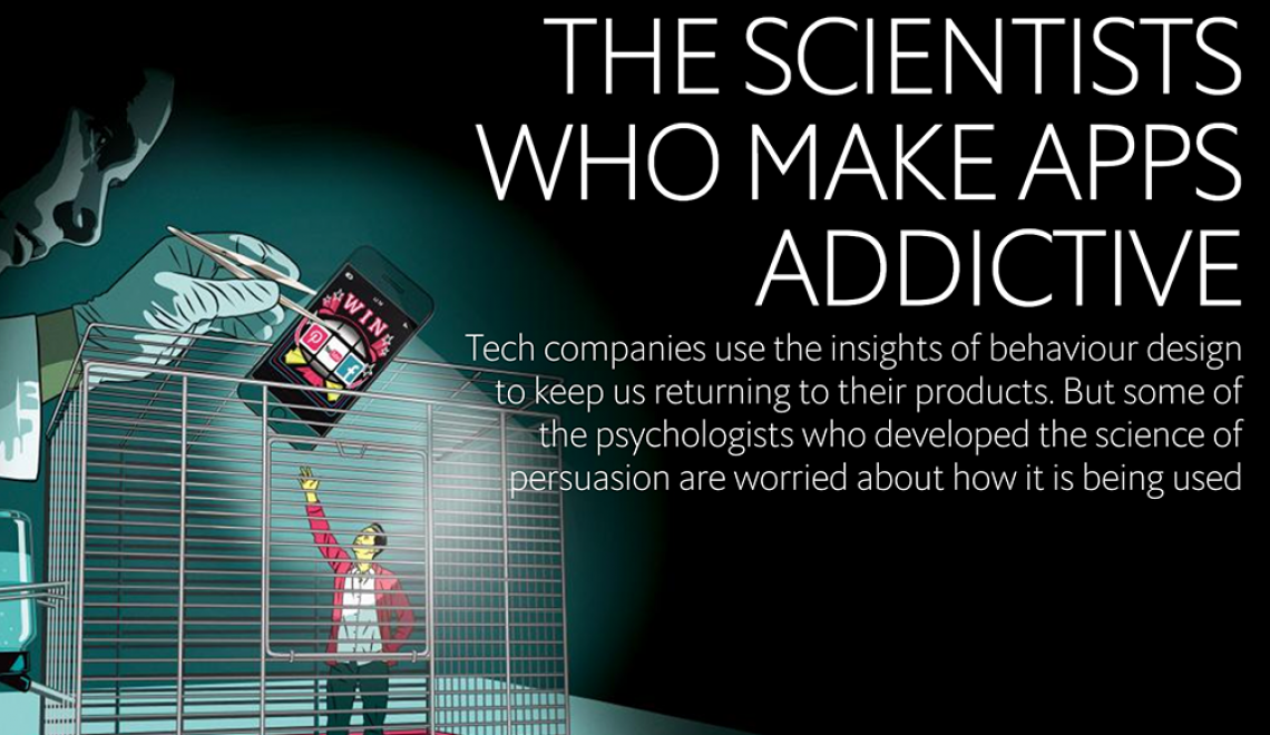 The Scientist Who Make Apps Addictive